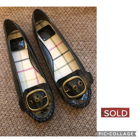 Coach Shoes - 🔴SOLD🔴Coach Patent Leather Flats